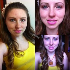 Bronzed eye with bright pink lips! #beauty #makeup #occ @Obsessive Compulsive Cosmetics #bblogger #sydneexo