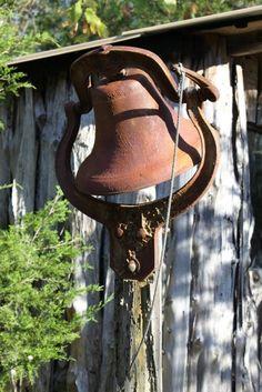 Old antique dinner bell