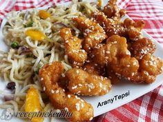 Kínai mézes-szezámmagos csirke recept | Receptneked.hu (olcso-receptek.hu)
