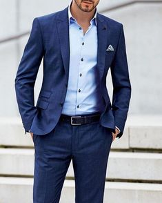 Suit styles for men, Mens suits pc: menwithclassIG mens relaxed suits Best Business Casual Outfits, Business Casual Men, Men Casual, Casual Menswear, Best Suits For Men, Cool Suits, Mens Fashion Suits, Mens Suits, Terno Slim
