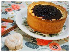 Belle Époque Wedding Diary: Amerikkalainen juustokakku mustikkapiirakkatäytteellä Cheesecake, Desserts, Food, Tailgate Desserts, Deserts, Cheesecakes, Essen, Postres, Meals
