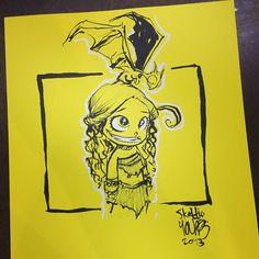 Artist: Skottie Young / Daenerys #wizardworldchicago