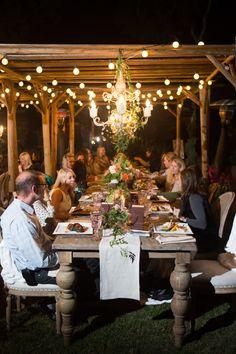 Evening Garden Party Wedding Ideas