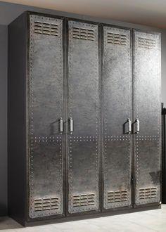 Spectacular Details zu Rauch Select Kleiderschrank Spind Workbase Vintage Breiten Dielenschrank