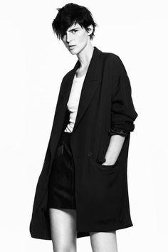 ABRIGO LIMITED EDITION | ZARA España David Sims, Stella Tennant, White Fashion, Minimal Fashion, Minimal Chic, Leather Mini Skirts, Lookbook, Pull, Style Icons