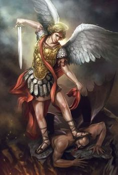 san michele arcangelo sconfigge il demonio/st michael the archangel defeats the devil, 7 thousand results found on Yandex. Angels Among Us, Angels And Demons, Catholic Art, Religious Art, St Michael, Male Angels, Angel Warrior, Woman Warrior, Kunst Online