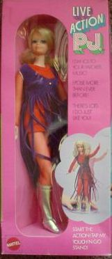 Man I loved this PJ doll.  Even had the stage and we put on some groovy concerts with our dolls!