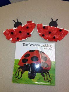 Lovely ladybug craft from Live Love Speech