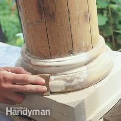 How to Use Epoxy on Wood for Repairs. Really great for inexpensive remodeling jobs such as repairs to doors,framework and trim.