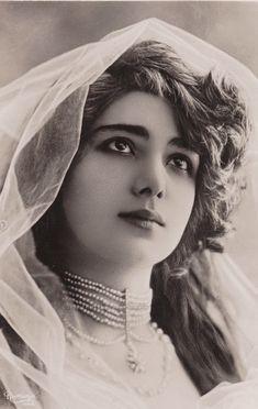 "carolathhabsburg: "" Mlle de Villers. 1900s """