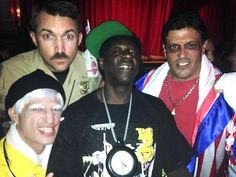 Hip-hop artist and television personality, Flavor Flav, partied at celebrity hotspot Beacher's Madhouse inside MGM Grand in Las Vegas on Friday night Aug 29, 2014
