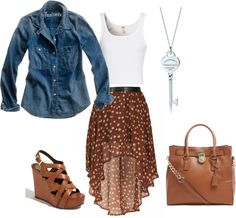 pretty fall outfit - love this!!