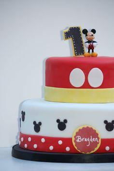 Mickey Mouse Cake. http://www.backen-geniessen.de/