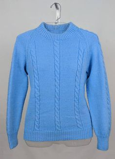 Hey, I found this really awesome Etsy listing at https://www.etsy.com/listing/578013533/blue-hand-knitted-sweater
