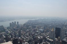 View from the empire state!