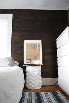 Frank Black framed in Ribba happies. Really loving the contrast with the dark brown wall.