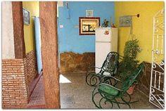 Detalle del patio. Cuba, Trinidad, Patio Interior, Prado, Painting, Cities, Painting Art, Paintings, Painted Canvas