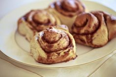 Tarçınlı Çörek (Cinnamon Rolls) « Baybars'la Vals
