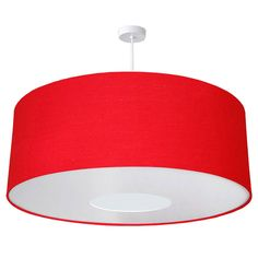 oversize large ceiling shade bright colours by quirk   notonthehighstreet.com - in white or charcoal, not red