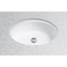 View the Toto LT641 ADA Compliant Vitreous China Undermount Lavatory with Overflow from the Dartmouth Collection at FaucetDirect.com.