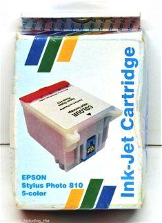 STYLUS PHOTO 810 830 925 C 505 COLOUR INK-JET PRINTER INK CARTRIDGE IN BOX Printer Ink Cartridges, Epson, Stylus, I Shop, Jet, Colour, Ebay, Style, Color