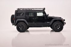 2011 Jeep Wrangler Unlimited Rubicon Black 4wd all road 4x4 cars wallpaper background