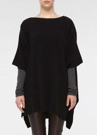 KNITSPIRATION: VINCE Poncho Sweater