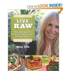 Voted PETA's sexiest vegetarian over 50—at age 70—Mimi Kirk is uniquely positioned to share her raw food recipes and lifestyle secrets.  Everyone knows that eating well makes you feel good, but Mimi Kirk is living proof that eating well—ideally raw vegan food—can make you look amazing. She's routinely taken to be at least twenty years younger than her age.