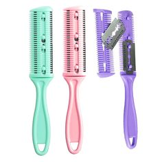New Fashion New Professional Dual Side Cutting Hair Beauty Trimmer Comb Haircuts Blade Home Diy Cut Thinning Slim Hair Cut Tool H7jp Excellent In Cushion Effect Shaving & Hair Removal Beauty & Health