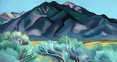 Georgie O'Keeffe Taos Mountain 1930