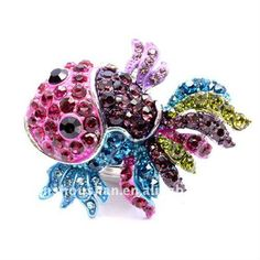 We love this funky fish ring!