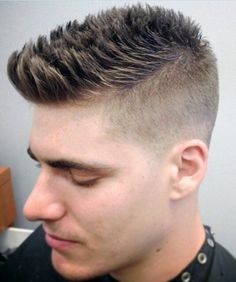 nice respectable high and tight beginning of an undercut
