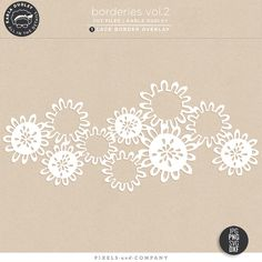 Borderies Vol.2 | cut file - by Karla Dudley