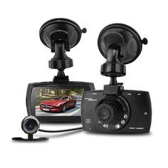 "Duall LENS Camera dvr 2.7"" G30 HD 1080P Car dvr Camera recorder Allwinner A10 Vehicle Traveling Date Recorder Night Vision"