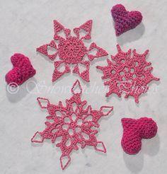 #_Baby Snowflakes free pattern.