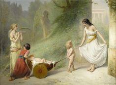 Pierre Olivier Joseph Coomans (1816-1889) On ne passe pas! 1889
