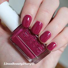 Essie Nail Colour: Raspberry (cheapest from NailPolishCanada.com)