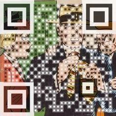 QR Code fumetto Pop-Art