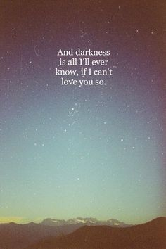 """Big Eyes by Matt Corby feat. Bree Tranter! The words are wrong, I know, but you still get the idea of the song. The correct lyrics are; """"and darkness is all you'll ever know, if I don't love you more."""""""