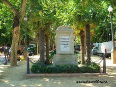 Parque Maria Luisa: Monumento de Rubén Darío - Parque María Luisa - Se...