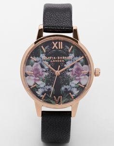 Olivia Burton – Winter Florals Mirror Floral Watch from ASOS