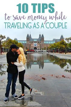 Traveling on a budget can be hard enough even as a solo traveler, but when traveling as a couple, on a budget or even more limited budget, things can get hard. We've traveled abroad as a couple extensively, and have come up with some great tips to stretch your travel budget. Here are our tips to save money while traveling as a couple!