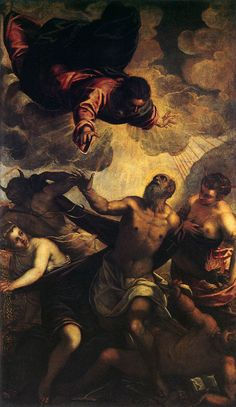 Tintoretto - The Temptation of St Anthony 1577