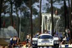 The Porsche 962C won at Le Mans in 1987 and took Porsche's seventh victory.