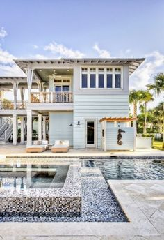 Lovely Beach House [ Wainscotingamerica.com ] #beach #wainscoting #design