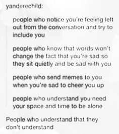 That last line though - need more of those people in my life
