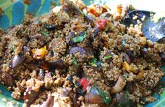 Balsamic Roasted Vegetable Quiona