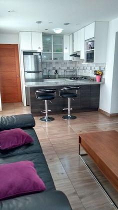 Kitchen Pantry Design, Modern Kitchen Design, Home Decor Kitchen, Interior Design Kitchen, Home Kitchens, Kitchen Layout, Minimal House Design, Small House Design, Small Modern Kitchens