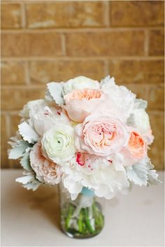 Chic Mint and Blush Wedding by Kina Wicks Photography via www.lemagnifiqueblog.com