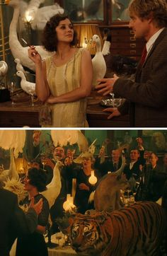 "Loved the use of taxidermy as the decoration in ""Midnight in Paris"".  Might have to use that someday."